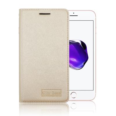 CB iPhone 7 / i7 4.7吋 皇家氣質閃亮隱扣立架皮套