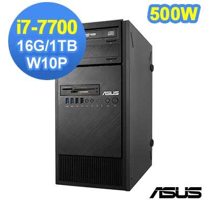 ASUS ESC500 G4 7代 i7 Win10 Pro 直立式繪圖工作站