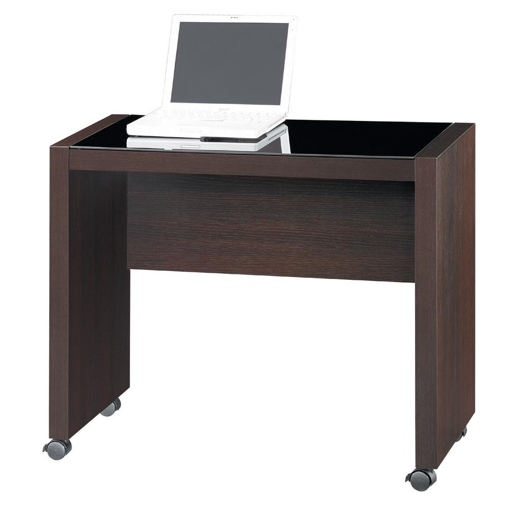 雅博德 胡桃木色活動側桌
