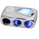 360度藍光三孔插座