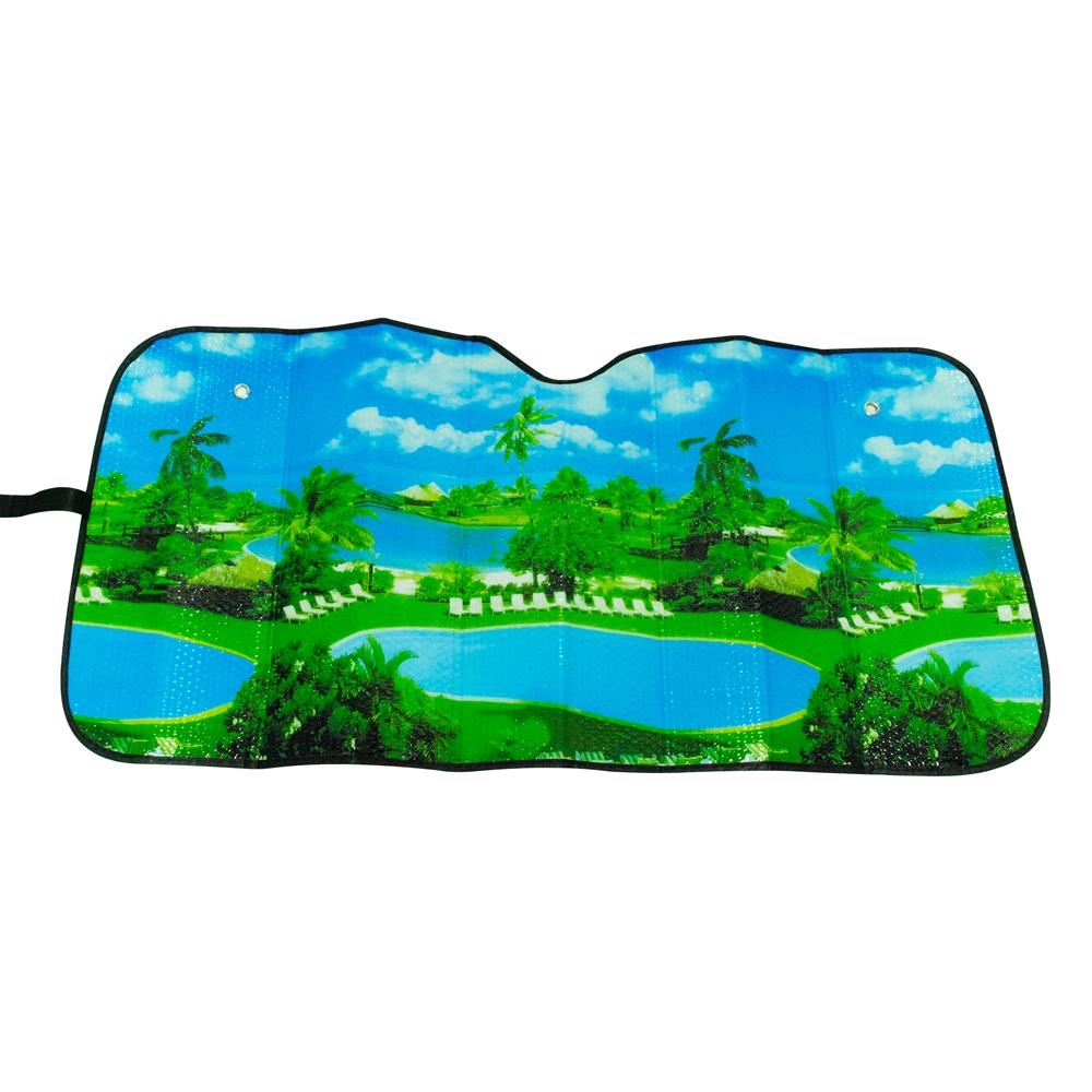 【安伯特】車用前檔遮陽板-5款可選 抗UV阻隔紫外線/輻射 降油耗 可摺疊收納 product image 1