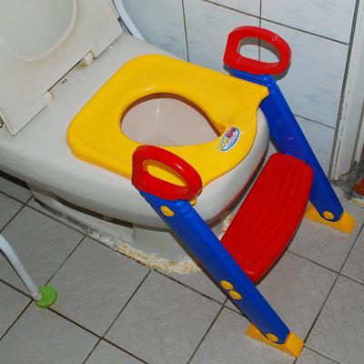 兒童馬桶輔助梯子