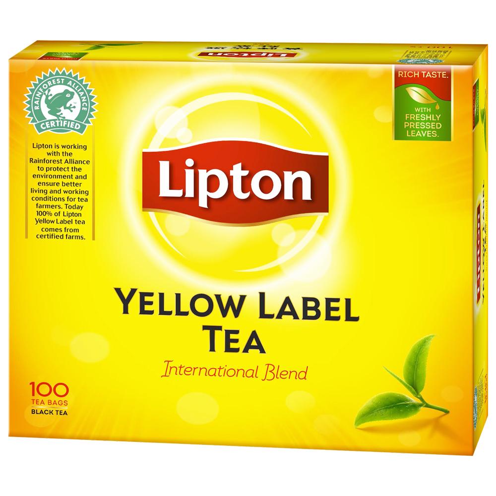 立頓 黃牌精選紅茶(2gx100入)