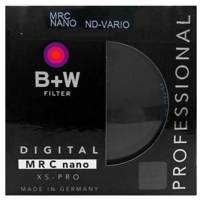 B+W XS-PRO ND Vario多層鍍膜可調式減光鏡(58mm/公司貨)