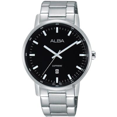 ALBA雅柏 PRESTIGE系列街頭酷流行手錶(AG8H33X1)-黑/39mm