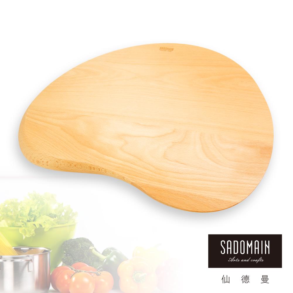 仙德曼 SADOMAIN 山毛櫸調色盤造型砧板