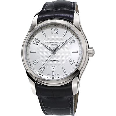 CONSTANT康斯登 RUNABOUT賽艇系列限量機械錶 -銀x黑/42mm