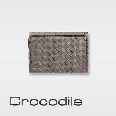 Crocodile Knitting系列多色手工編織中夾 0103-60072