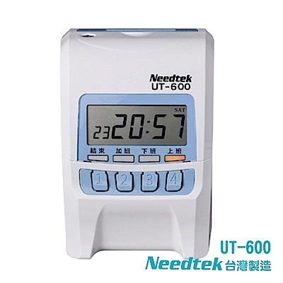Needtek UT-600 小卡專用微電腦打卡鐘