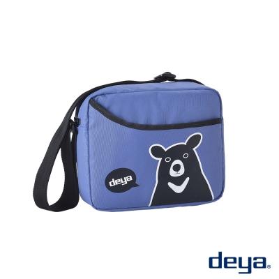 deya熊側背包-水晶藍