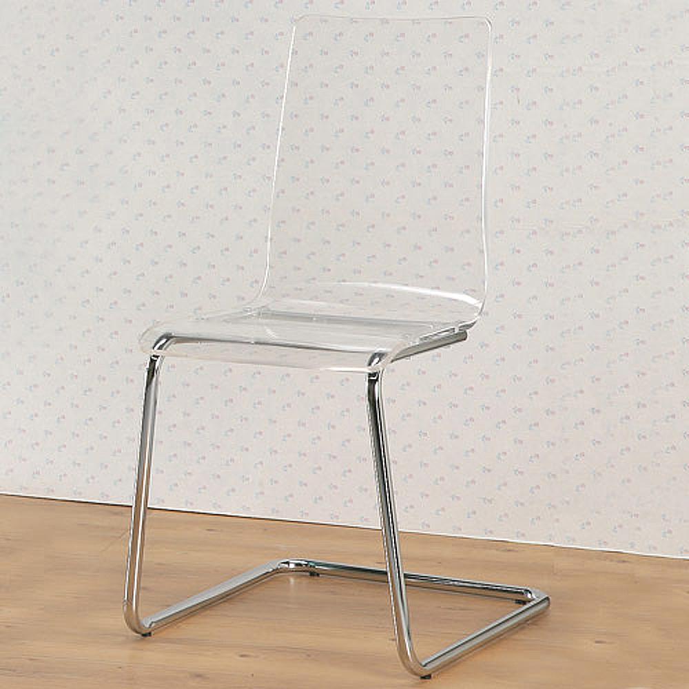 Homelike 果凍美學造型椅-透明