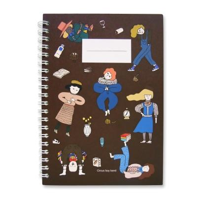 CBB 環裝線條筆記本M01-歡樂