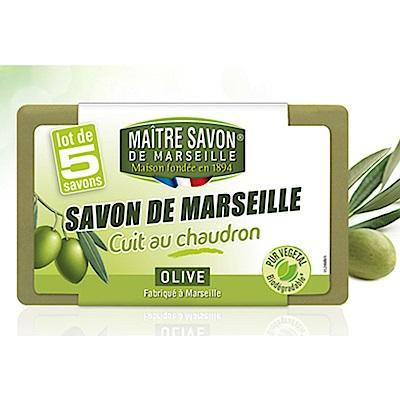 法國玫翠思 傳統經典橄欖馬賽皂100G*5入