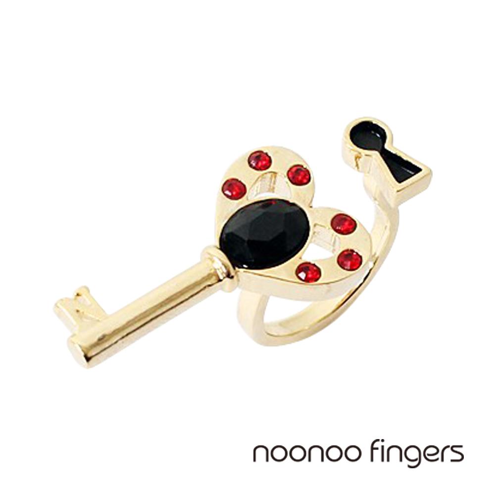Noonoo Fingers Key Hole Ring 鑰匙和鑰匙孔 戒指