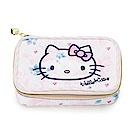 Sanrio  HELLO KITTY花漾旅行系列小物分格收納盒附包