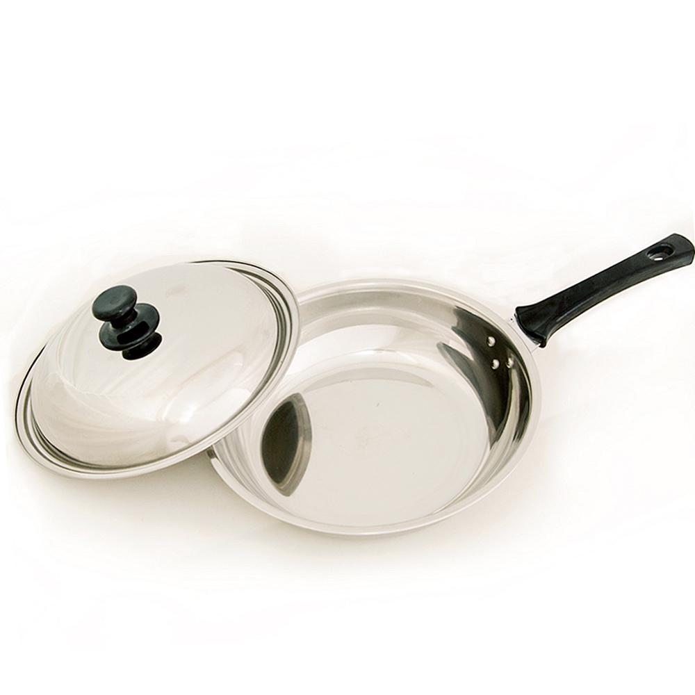 台灣好鍋  加賀系列七層不鏽鋼平底鍋(28cm)