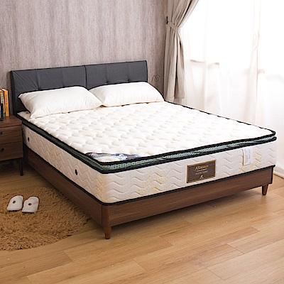 夏洛特 記憶棉排汗正三線雙人5尺蜂巢式獨立筒床墊