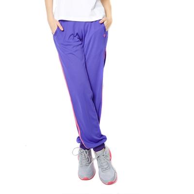 FIVE UP- 極顯瘦舒適吸排針織長褲-紫