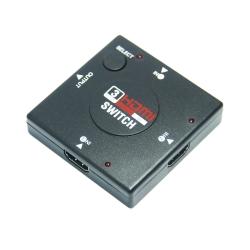 便利社 HDMI三進一出切換器