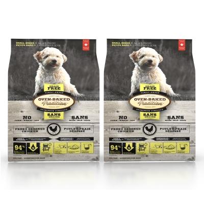 Oven-Baked烘焙客 無穀雞肉配方 全犬 天然糧 1kg X 2包