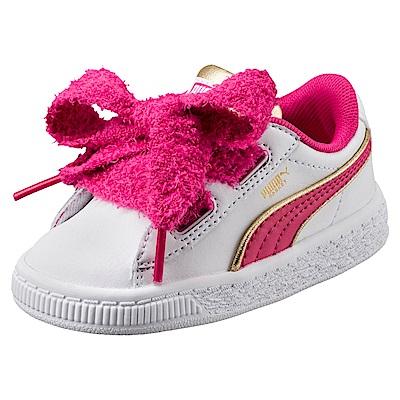 PUMA-MinionsBasketHeartFluffyInf嬰孩鞋