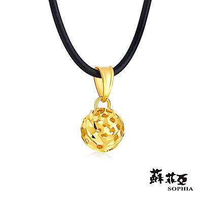 蘇菲亞SOPHIA - G LOVER系列典雅縷空黃金項鍊