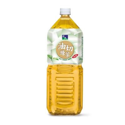 悅氏 健茶到油切綠茶(2000mlx8入)