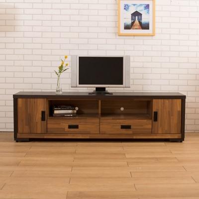 LOHA-Original原創雙色-工業六尺電視櫃-寬180x深40x高50cm