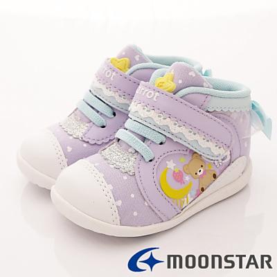 日本Carrot機能童鞋-護踝學步款BON011紫(寶寶段)T#13cm