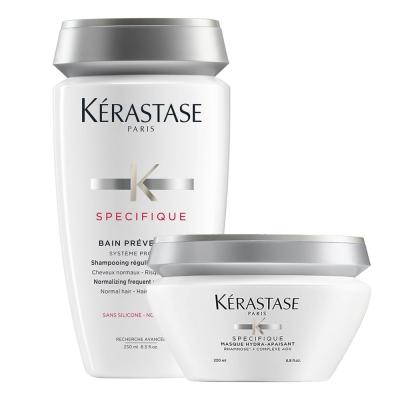 *Kerastase卡詩 全能特效活髮養護組(全能活髮浴250ml+銀樺樹面膜200ml)