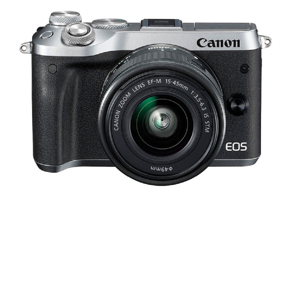 Canon EOS M6 + 15-45mm 變焦鏡組 (平輸中文) product image 1