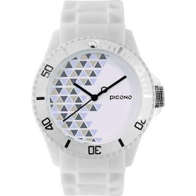 PICONO BA-PP-04 繽紛主題 - 普普馬戲團系列手錶 - 白/40mm