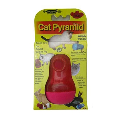 Nina Ottosson寵物益智玩具-貓貓不倒翁、兩色可選