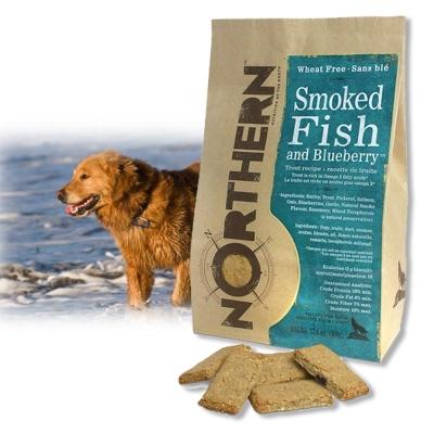 Northern-加拿大天然手工餅乾-煙燻魚藍莓