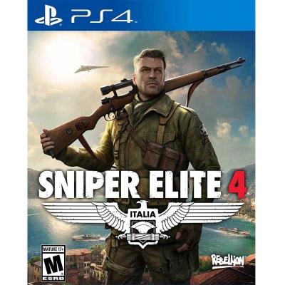 狙擊之神 4  Sniper Elite 4 - PS4英文美版