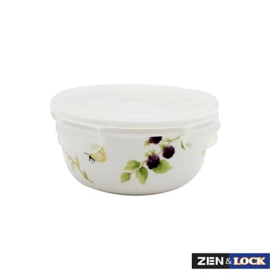 Zen Cook祕密花園微波盒 圓 500ml