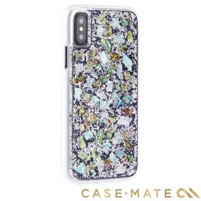 美國 Case-Mate iPhone X Karat 防摔手機保護殼 - 貝殼...