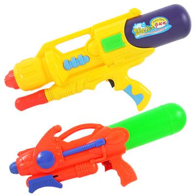 《夏日戲水超值組》加壓式中型強力水槍2入組(隨機出貨)