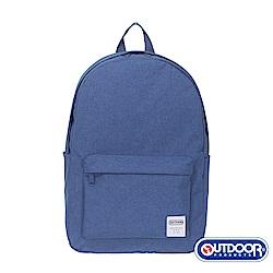 OUTDOOR- 極簡生活2.0系列-後背包-雪白中藍-OD49166MBS