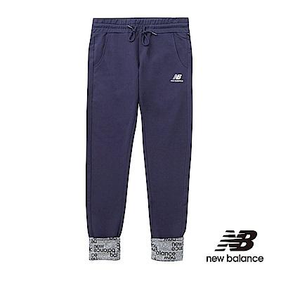 New Balance 印花褲口針織長褲 AWP61625ABY 女性 丈青