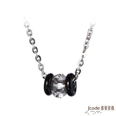 J code真愛密碼銀飾 聚焦純銀男墜子 送白鋼項鍊