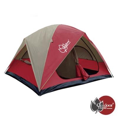 【Outdoorbase】楓紅270雙房隔間帳篷.寢室帳.露營帳篷