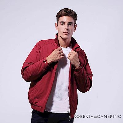 ROBERTA諾貝達 進口素材 台灣製 禦寒必備 厚鋪棉夾克外套 紅色