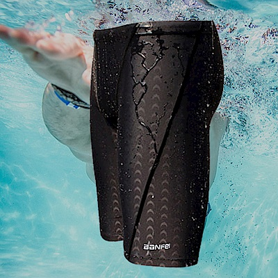 Biki比基尼妮泳衣   鯊魚男泳褲浮潛褲五分褲(M-3XL)