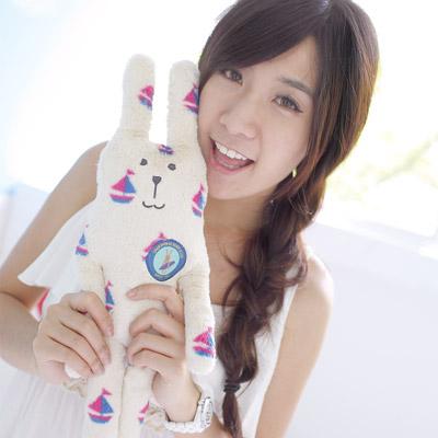 YOYOGO-CRAFTHOLIC-夏日帆船兔小抱