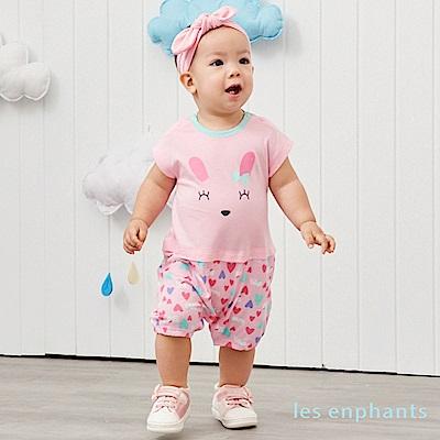 les enphants baby 快樂動物園涼感連身裝 (3色可選)