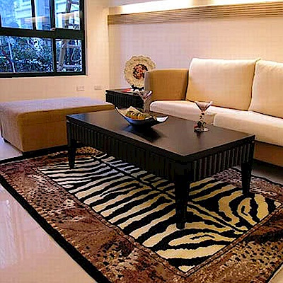 范登伯格 - 米樂 進口地毯 - 虎紋 (150 x 220cm)