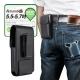 第二代Achamber 個性型男真皮旋轉腰夾直立腰掛皮套 OPPO R11/HTC U11 product thumbnail 1