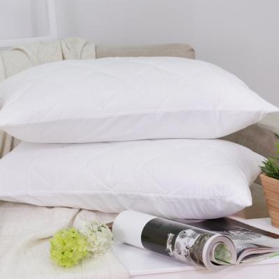 鴻宇HongYew 透氣防污枕頭專用保潔枕套2入