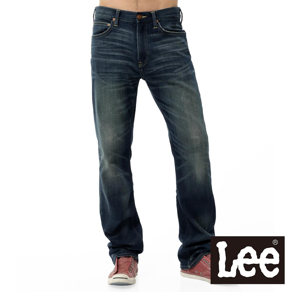 Lee 牛仔褲 743 中腰舒適直筒-男款(二手藍)